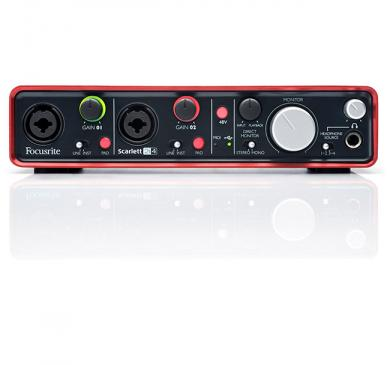 Focusrite Scarlett 2i4 USB 2.0 Audio/MIDI-Interface